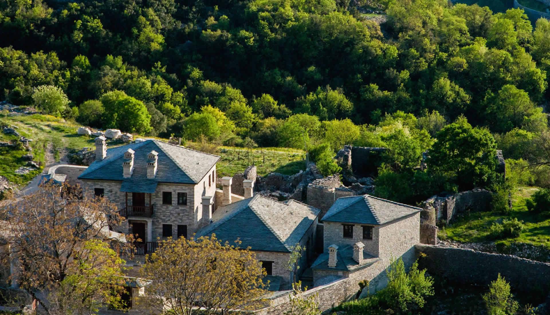 Ξενώνας Γιωράλδη, Άνω Πεδινά, Ζαγοροχώρια